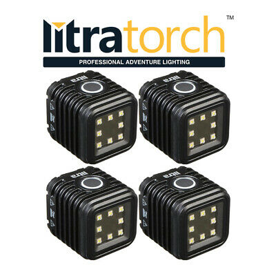 4x Litra Torch Camera Video Light Lamp LED Flash Underwater GoPro DV Accessories