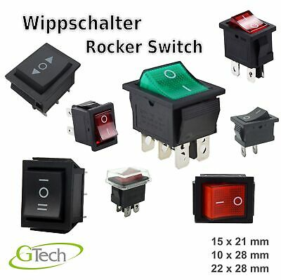 Rocker switch Wippschalter Schalter ETKCD1-101-2-R rastend
