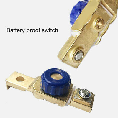 Car Motorcycle Battery Master Disconnect Isolator Terminal Cut Off Kill Switch