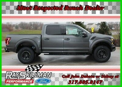 Ford F-150 NEW Raptor 802A PREMIUM LOADED MAGNETIC GREY 2018 MAGNETIC GREY Raptor New Turbo 3.5L V6 Automatic 4WD Pickup Truck 802A 18