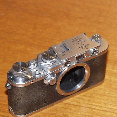 Leica III converted to IIIf 35mm film camera 152330 GERMANY 1935 shutter FAULT