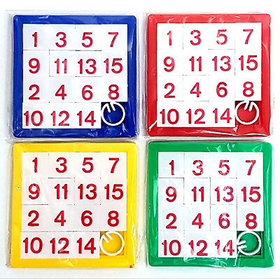 Slide Number Puzzle Games Toy Boys Girls Favor Loot Birthday Party Bag Fillers