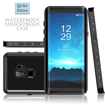 New Galaxy S9 Plus Waterproof Case Shockproof Dirtproof Protective Shell Rugged