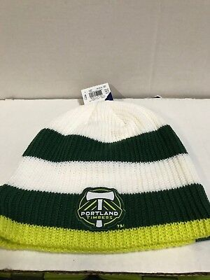 MLS Portland Timbers Adidas Knit Hat Team Color One Size Free Shipping