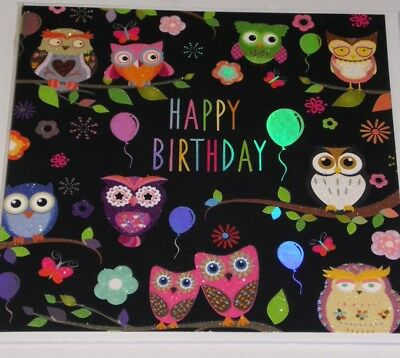 HAPPY BIRTHDAY CARDS x12, just 29p, WRAPPED 'TRACKS BRAND' SUPERB! (D228