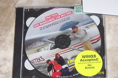 King School Take-Off Course Training DVD's VFR IFR New
