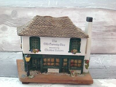 Old Curiosity Shop Musical Box Created By Pauline Ralph