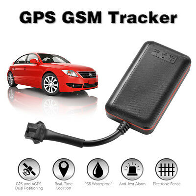 Vehicle Real-time GPS Tracker Motorcycle Bike Car GSM GPRS Tracking Device AH362
