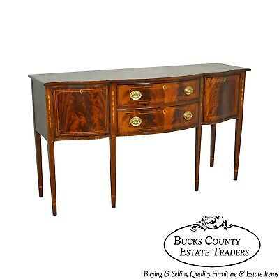 Stickley Classics Mahogany Collection Inlaid Hepplewhite Sideboard