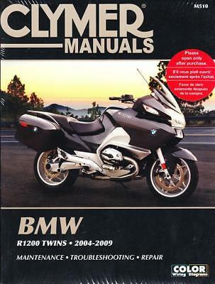 2004-2009 BMW R1200 Clymer Repair Service Workshop Shop Manual Book Guide M510