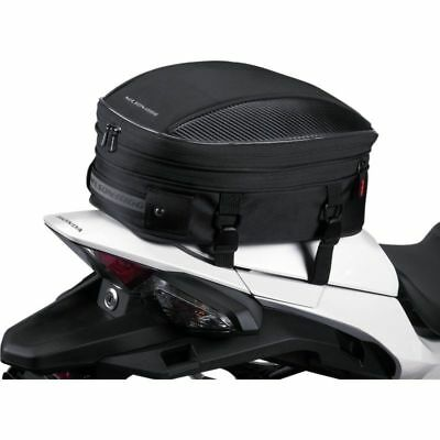 Nelson Rigg CL-1060-S Sport Expandable Black Motorcycle Seat & Tail Storage Bag