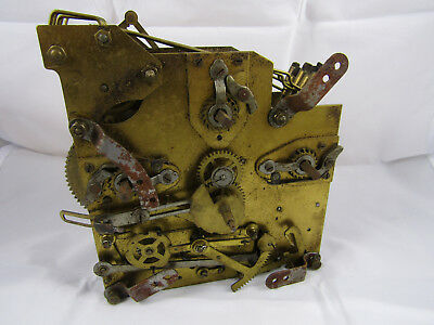 Antique Clock Mechanism Watchmakers Stock For Parts Spares Repair Not Working