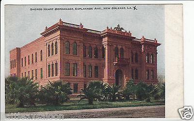 Lithograph - New Orleans - Sacred Heart Orphanage - early 1900s