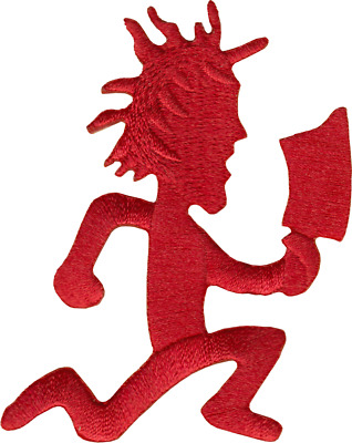 "Patch - Red Hatchet Man Insane Clown Posse ICP Music Band 2.875"" Iron On #16196"