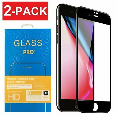 3D Curved Full Coverage Tempered Glass Screen Protector for iPhone 6s 6 7 8 Plus