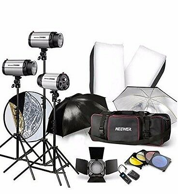 Photography Studio Photo Strobe Flash Light Stand Trigger Photographic Lighting