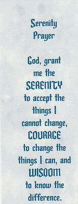 25 Serenity Prayer Bookmarks, Inspirational