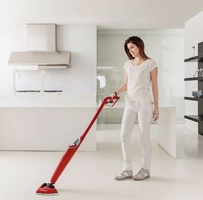 Vileda 100°C Hot Spray Steam Mop Microfibre Cordless Floor Cleaner Hard Floors