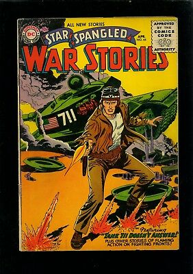 Star Spangled War Stories 44 VG- 3.5
