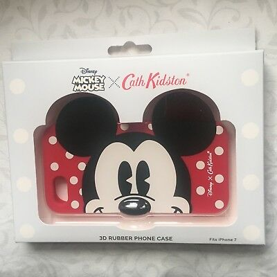 Cath Kidston X Disney Mickey Mouse 3D rubber cell phone cover for iPhone 7