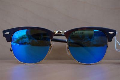3c02abbe60 New Unisex Ray Ban RB3016 Clubmaster 1145 17 49 21 140 Tortoise Sunglasses