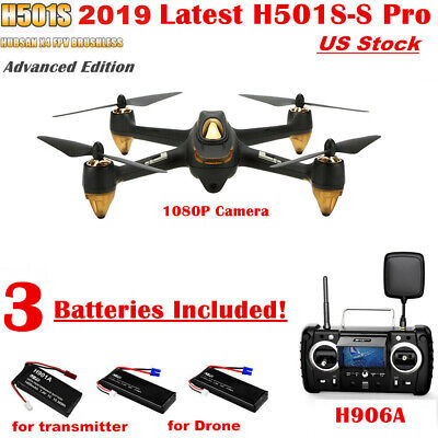 Hubsan H501S X4 Pro Drone FPV GPS RC Quadcopter Brushless 1080P HD Camera RTH US