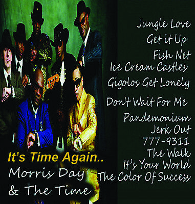 Morris Day & The Time Mixtape DJ Compilation Mix CD Old School Lovers Mix