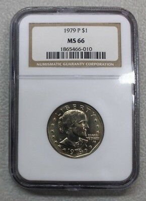 1979-P Susan B. Anthony Dollar (SBA$1) NGC MS-66