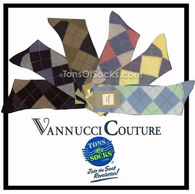 Men's Vannucci Argyle Dress Socks