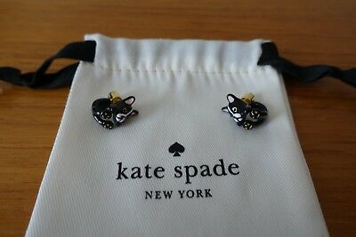 AND EARRINGS KATE SPADE MA CHÉRIE ANTOINE FRENCH DOG OPEN HINGED CUFF BRACELET