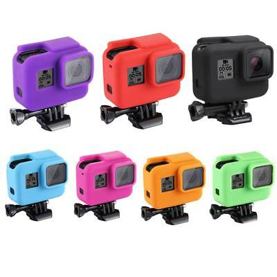 For GoPro HERO 5 6 4 Silicon Camera Case Protective Dirtproof Skin Rubber Cover