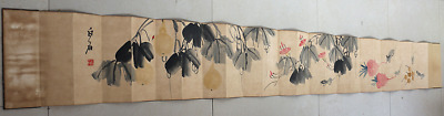 Excellent Chinese 100% Hand Painting & Scroll Landscape By Guan ShanYue 关山月 CXQ6