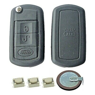 Land Rover Discovery 3 Button Remote Key Fob Service Repair Kit + VL2330 Battery