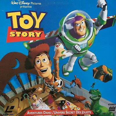 Laserdisc - Toy Story Ws Vf Pal -Disney