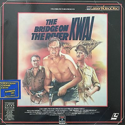 BRIDGE ON THE RIVER KWAI (THE) CLV - N&S NTSC LASERDISC William Holden