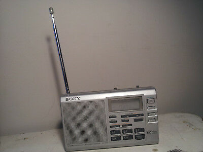 Sony ICF-SW35 Stereo World Receiver Digital Short Wave Radio Good Condition