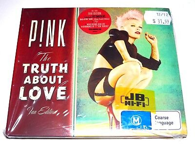 pink pnk the truth about love fan edition cddvd