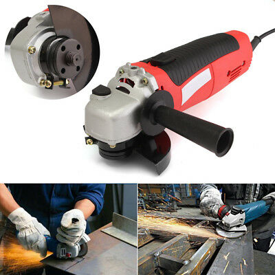 4.5'' 650W 115mm Electric Angle Grinder Heavy Duty Cutting Grinding Sanding Tool