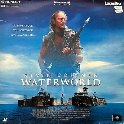 Laserdisc -  Waterworld-Pal Vf Ws Kevin Costner