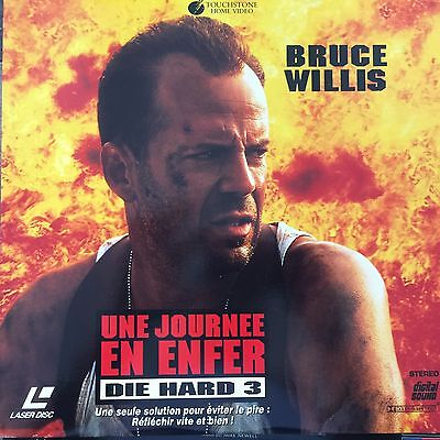 DIE HARD 3 - UNE JOURNEE EN ENFER WS VF PAL LASERDISC Bruce Willis