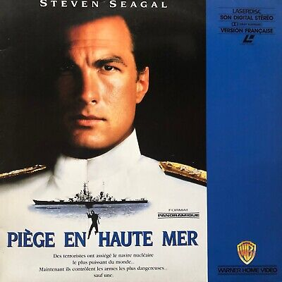 LASERDISC - PIEGE EN HAUTE MER -WS VF PAL -Steven Seagal, Tommy Lee Jones