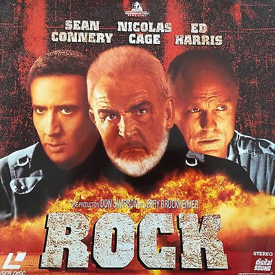 LASERDISC - ROCK WS VF PAL-Peter Sean Connery, Nicolas Cage, Ed Harris
