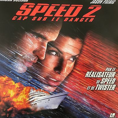 Laserdisc - Speed 2 , Pal Ws Vf