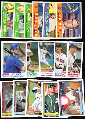 2017 Topps Archives Base Singles 151-300:  Complete Your Set You Pick
