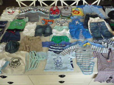 Bulk Lot (68 items) of Boys Size 00 Clothing (incl Country Road, Seed & Esprit)