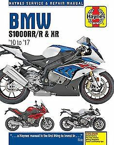 BMW S1000RR/R & XR 2010-2017 Haynes Manual 6400 NEW