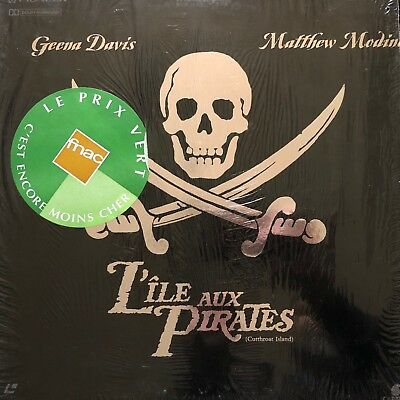 Laserdisc - L Ile Aux Pirates - Vf Pal- Ws