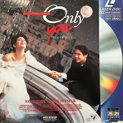 Laserdisc - Only You - Vf Pal - Robert Downer Jr
