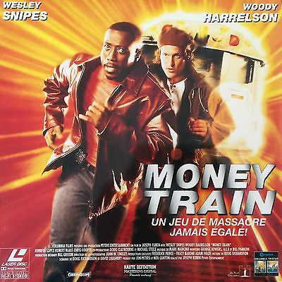 MONEY TRAIN VF-WS-PAL LASERDISC Wesley Snipes, Woody Harrelson