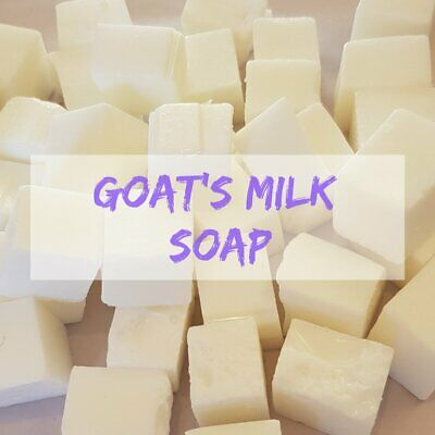 Goat's Milk Melt and Pour Soap (low sweat)